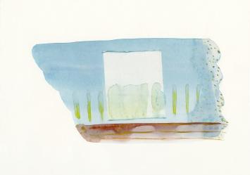 Hans Anliker, «ohne Titel», Aquarell, 2005. Foto: Katrin Anliker