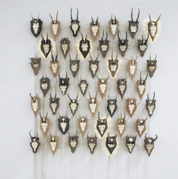 Ulrich Möckel, Gehörne, 2004 © Museum Art.Plus & VG Bild-Kunst Bonn, 2018