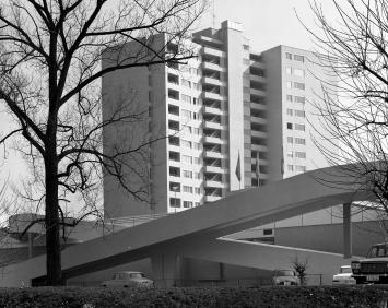Shoppingcenter Schönbühl, Luzern, ca. 1968 © Foto Otto Pfeifer, Archiv Museum im Bellpark, Kriens