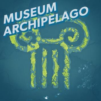 ‹Museum Archipelago› von Ian Elsner, Podcast-Cover