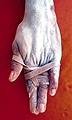 Myriam Mihindou (Gabon): Relique d'un corps domestique, Hybride, 2002 © Myriam Mihindou
