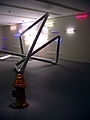 Mark Handforth · Blick in die Ausstellung im Aufbau, Kunsthaus Zürich, Februar 2005, Foto: Natalie Ellwanger, © Kunsthaus Zürich