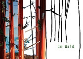 Philipp Gasser + Esther van der Bie · Im Wald, 2005, digitale Fotomontage aus Arbeiten beider Künstler