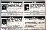Entlassene Gastarbeiter in Sharhah werden in der Zeitung exhibitioniert; Peter Stoffel wollte sich von der Biennaleleitung als Künstler feuern und auch in der Zeitung mit Bild und Passnummer diffamieren lassen.