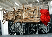 Cai Guo-Qiang · The Dragon has arrived, 1997, Translation, Palais de Tokyo, Foto: texte&tendenzen
