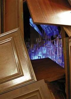Diana Dodson · Eigerwohnwand, 2005, Installation (Teilansicht)