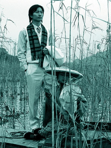 Yan Fudong · Liu Lan, 2003, 35mm-Film auf DVD, 14' (Musik von Zhou Qing), Courtesy the artist/ShanghART Gallery, Shanghai