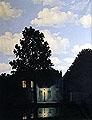 René Magritte · Das Reich der Lichter, 1954, Öl auf Leinwand, 146 x 114 cm, Privatsammlung, © ProLitteris, Zürich