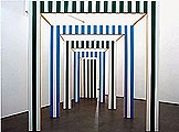 Daniel Buren · Le Carré Eclaté, 1992, Courtesy Studio Dabbeni/ProLitteris Zürich