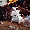 Nedko Solakov · Garbage People # 7, 2005, Schwarze Tinte und Marker auf Lambdaprint, auf Dibond aufgezogen, Serie von 7, je 120 x 120 cm, Courtesy Gallery Tanya Rumpff, Haarlem, NL, © Nedko Solakov