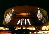 Krzystof Wodiczko · The Hirshhorn Projection, Washington D.C., 1989