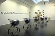 Ian Anüll · Ausstellungsansicht im Centre Culturel Suisse, Foto: CCSP