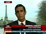 """The Yes Men · """"Dow Chemical Identity, BBC World Service"""", 2004"""