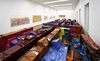 Anna Amadio · Ausstellungsansicht Kunstmuseum Thun, 2006, Foto: David Aebi