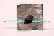 Nakis Panayotidis · Il Ladro di luce: Noi vogliamo costruire, Bronze, Blei, Neon, 2005