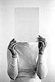 Ana Torfs · Figure, 2002, Silbergelatineabzug, 60 x 40 cm, Foto: Ana Torfs