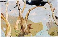 Ohne Titel, 2002, Öl auf Leinwand, 213,3 x 335,3 cm, Sammlung David Tiger, Courtesy Gavin Brown