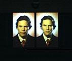 Bjorn Melhus · Weeping, 2001, Videoprojektion, 7´, Loop, Ausstellungsansicht, © ProLitteris