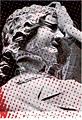 Ohne Titel (Magdeburg), 20,2 x 29,7 cm, Siebdruck auf Buchseite, 2006, Copyright ProLitteris
