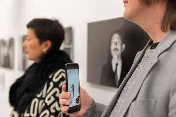 Corine Mauch,‹Kunstankäufe der Stadt Zürich 2011-2018›,Helmhaus,Kunst: Szene Zürich 2018.Foto:Dominik Zietlow