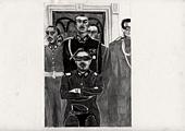 History of Masculinity, 2005, dessin sur papier, 29,7 x 42 cm