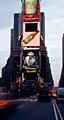 Büsi, 2001, auf Grossbildschirm vorgeführt, im Rahmen von «The 59th Minute: Video Art on the Time Square Astrovision», Creative Time, New York, alle Werkaufnahmen © 2007 Peter Fischli/David Weiss