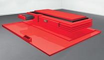Martin Widmer · Tombeau (projet pour l´exposition Accélération), 2007, Image numérique. Courtesy Martin Widmer