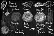 Rudolf Steiner · Am Anfang war die Wärme, 30.6.1924, Wandtafelzeichnung, Kreide auf Papier, gerahmt, 150 x 90 cm, © ProLitteris, Zürich