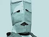 FLICKERING SUBJECTS III, 2007, Video Takeout ohne Titel, Inkjet Druck auf Leinwand, 150 x 200 cm