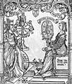 Charles de Bovelles · La Fortune et le Savoir, Liber de sapiente in Que hoc volumine continentur... (détail). Parisiis, Ambianis, 1510, fol. 116v