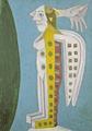 Sava Sekulic · Ohne Titel, 1975, Sammlung Charlotte Zander, Bönnigheim, aus der Ausstellung «Schets of Schim»