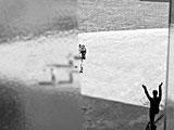 David Claerbout·Sections of a Happy Moment, 2007, Videoprojektion, schwarz/weiss, Stereo, 26 Min., Courtesy David Claerbout, Galerie Yvon Lambert, Galerie Micheline Szwajcer, Hauser und Wirth, © ProLitteris, Zürich