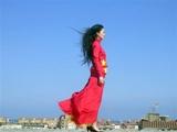 Alicia Framis · «100 ways to wear the chinese flag», 2007, Courtesy Galeria Helga de Alvear