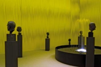 Salle des fontaines, 2007, Ausstellungsansicht Musée Jenisch
