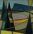ERNST MESSERLI · Dent de Vaulion, um 1950, 50 x 50 cm