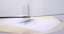 OLAFUR ELIASSON · The endless study, 2005/2007, Holz, Metall, Spiegel, Papier, Kugelschreiber, Stempel, 235 x 130 x 130 cm, Courtesy Neugerriemschneider, Berlin, Tanya Bonakdar Gallery, New York, © ProLitteris, Zürich