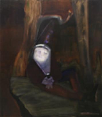 Tatjana Gerhard · Ohne Titel, 2008, Öl auf Leinwand, 150 x 130 cm