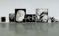 Mon éducation (The Ultimate Comix) Acrylique sur bois, 2006 Photos: Carl June