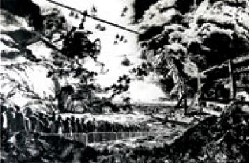 uncommon ground Tusche auf Papier, 2007
