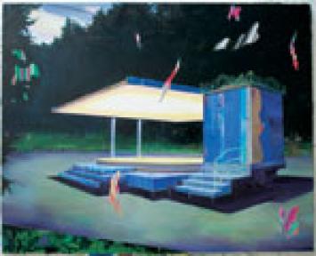 Unavailing Huile sur toile, 160x200 cm, 2007 Photos: Jean-Paul Fuenzalida