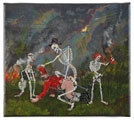 Jakub Julian Ziolkowski · Penance, 2008, Öl auf Leinwand, 24 x 27 cm