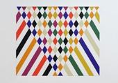Stephen Westfall, Effulgence, 2009, Öl auf Leinwand, 76 x 91,5 cm
