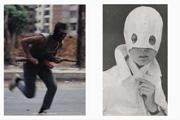 Thomas Galler · Persona, 2009, Blow-ups von Zeitungs- und Magazinbildern, Serie von zehn Diptychen, C-Prints, je 60 x 45 cm