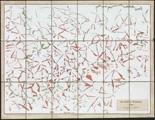 Nanne Meyer · Mit weiterer Umgebung, 2008, Gouache auf Landkarte, 47,5 x 62 cm