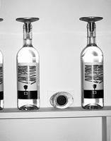 Gioni Signorell, Gaudenz Signorell · berge - n, 2009, Glas, Zinnguss, Wachs, Kirsch, 2008, 45°