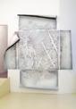 Gabriele Basch · status, 2008, Lack auf Papierschnitt, 300 x 289 cm, Courtesy Galerie M+R Fricke, Berlin/ Museum Bellerive Zürich © ProLitteris Zürich.?Foto: Marcus Schneider