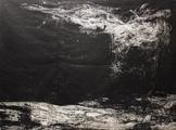 Wolfgang Zät · Ohne Titel, Linoldruck auf Japanpapier, 230 x 172 cm