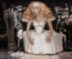 Stéphane Zaech · Le songe de Titania, 2008, Öl auf Leinwand, 130 x 160 cm