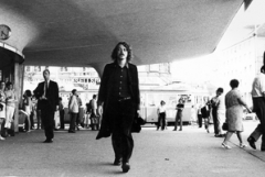 ‹Gehen›, Aktion in zwei Teilen, 13.7.1970, 18 bis 19 Uhr, Zürich, Bellevue