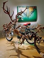 Moonruccker, Green Blackbox, 2010, Ausstellungsansicht, Kunstraum Baden. Foto: Donata Ettlin